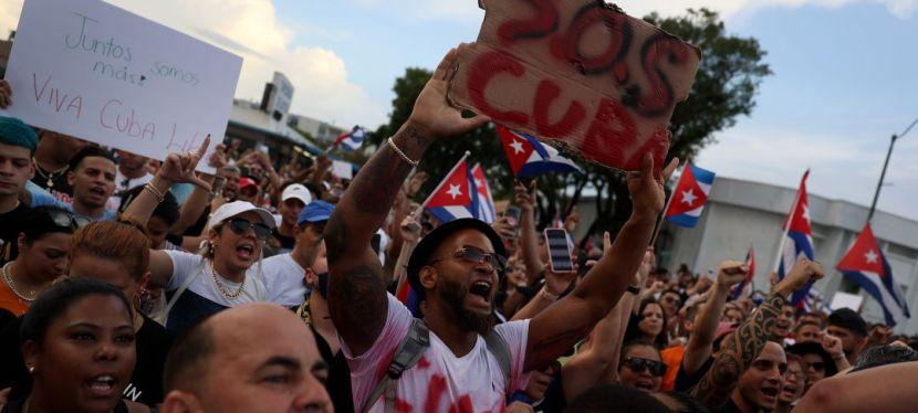 Reporte RRSJ sobre la crisis enCuba