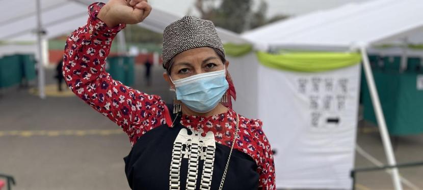 Nueva líder indígena para la Convención Constitucional deChile