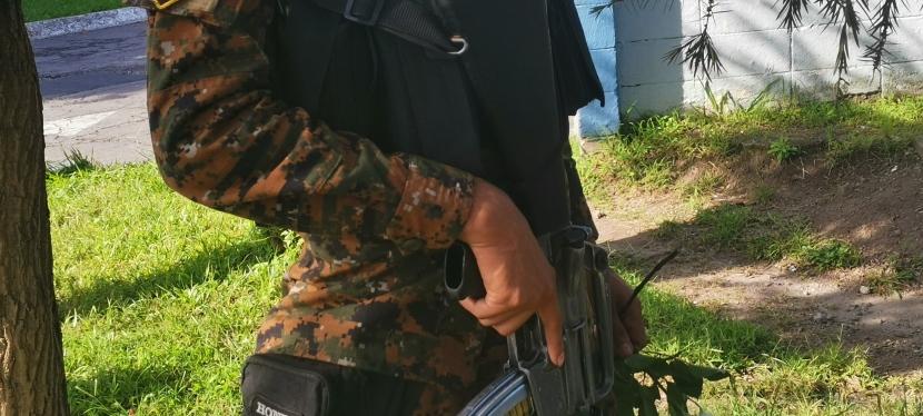 Nayib Bukele apuesta por el Ejército salvadoreñoPrt.2