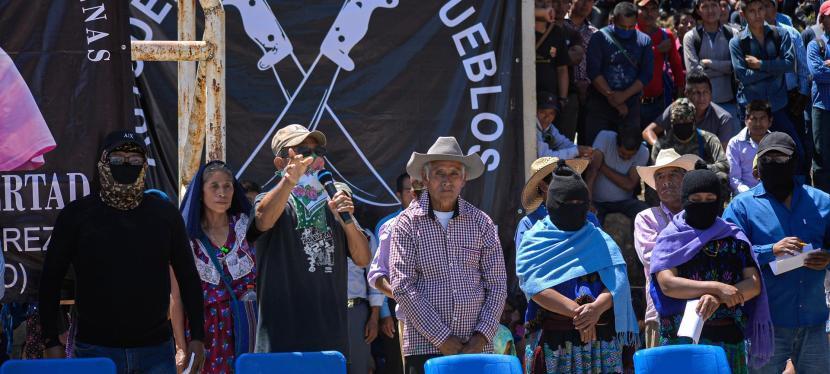 Desplazados en Chiapas y Michoacán por los enfrentamientos entre autodefensas y el crimenorganizado