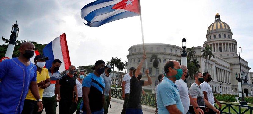 Informe de RRSJ procedente deCuba