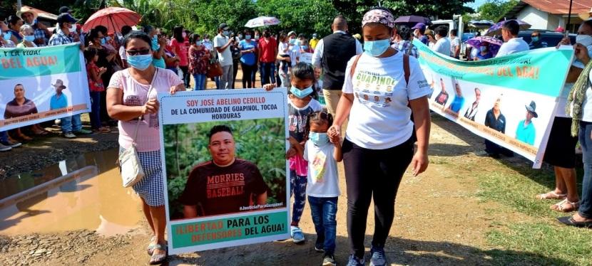 Defensores del Río Guapinol cumplirán dos años de prisióninjusta